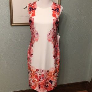 🌸 NWT Calvin Klein sheath dress 💕